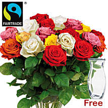 Bewitching Bouquet Of Mixed Roses: Mother's Day Bouquets to Germany