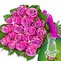 Bunch of 20 purple roses: Valentine's Day Rose Delivery in Germany