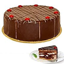 Dessert Blackforest Cherry Cake: Friendship Day Presents to Germany