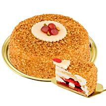 Dessert Hazelnut Brittle Cake: Send Gifts to Dusseldorf