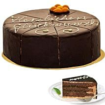Dessert Sacher Cake: Send Diwali Gifts to Germany