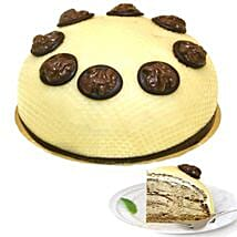 Dessert Walnut Cream Cake: Send Birthday Cakes to Bonn
