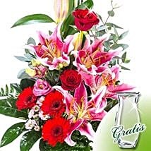 Flower Bouquet Majestic: Valentine Bouquets to Germany