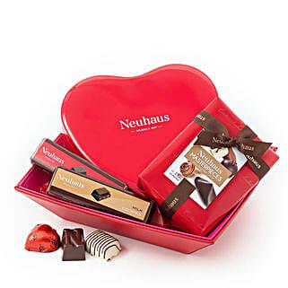 Neuhaus Romantic Gift Basket: Send Gift Baskets to Germany