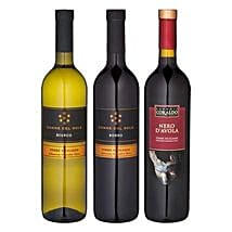 Sicilien gift set with 3 wines: Christmas Gifts to Germany