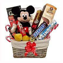 Christmas With Mickey Mouse: Send Gifts to Greece