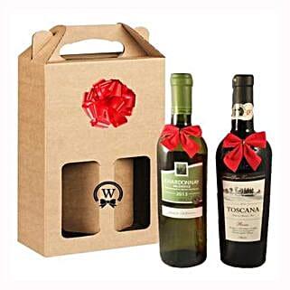 Classic Dual Italian Wines: Corporate Gifts to Greece