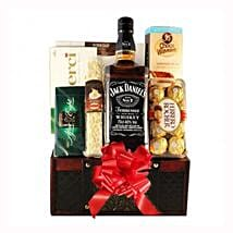 Jack Daniels Gift Basket: Corporate Gifts to Greece
