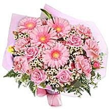 In the pink bouquet gaum: Corporate Presents to Guam