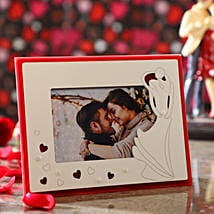 Hearts Photo Frame: Valentine Gift Delivery Hong Kong