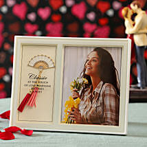 Personalised Photo Frame For Her: Valentine Gift Delivery Hong Kong