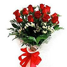Bunch of 12 roses INDO: Valentine Gifts to Indonesia
