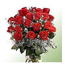 Bunch of 24 roses INDO: Congratulation Flowers to Indonesia