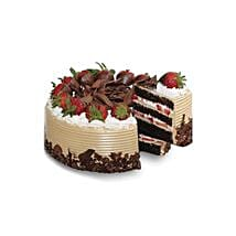 Choco n Strawberry Gateaux: Christmas Cake Delivery Indonesia