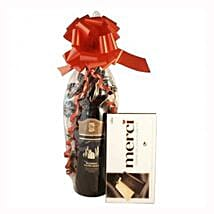 Red Wine and Chocolate: Gifts to Italy