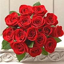 18 rose bouquet JAP: Corporate Gifts to Japan