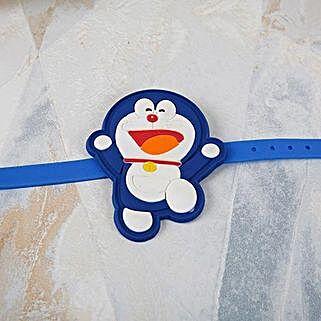 Doraemon Cartoon Rakhi: Rakhi Delivery in Kenya