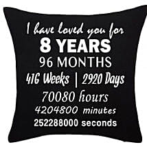 Anniversary Special Printed Cushion: Get Well Soon Gifts to Kuwait