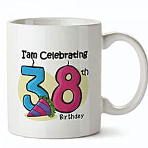 Birthday Special Mug With Age: Gift Delivery in Kuwait