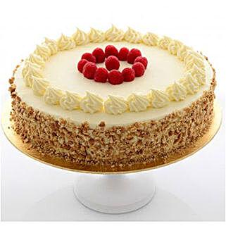 Vanilla sponge cake: Send Anniversary Cakes to Kuwait