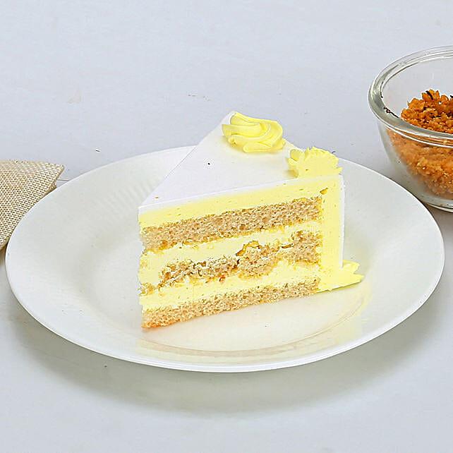 Rectangular Butterscotch Treat 2kg Eggless