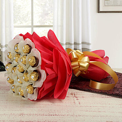 Chocolate & Flower Bouquets