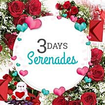 3 Days Valentine Love Everyday: Flowers & Cakes for Wedding