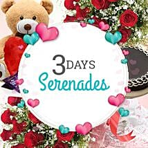 3 Days Valentine Serenades: Send Valentines Day Serenades
