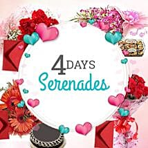 4 DAYS SERENADE: Send Valentines Day Serenades