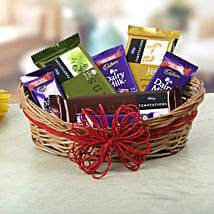 A Basket Of Sweet Treat: Same Day Chocolate Delivery