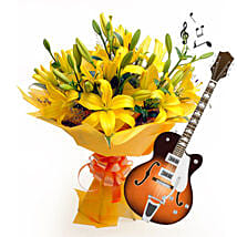 Acoustic Beauty: Thanks Giving Day Flowers