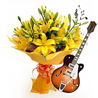 Acoustic Beauty: Teachers Day Flowers