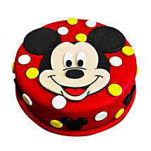 Adorable Mickey Mouse Cake: Cake Delivery in Vijayawada
