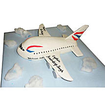 Airplane Cake: Red Velvet Cakes Bangalore