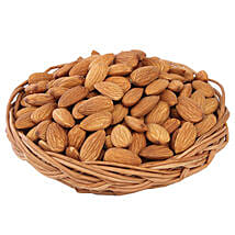 Almonds Basket: Send Gift Baskets to Lucknow