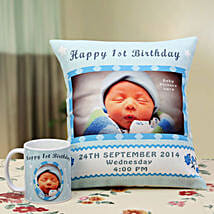 Angelic Dreams Personalized Combo: Send Personalised Mugs for Kids