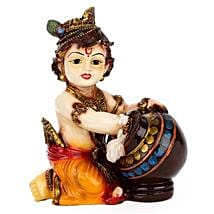 Bal Krishna Idol: Send Handicraft Gifts to Pune