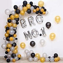 Balloon Decor For Brother No 1: Room Decorations