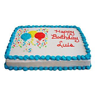 Balloon N Joy Cake: Cakes to Baharampur