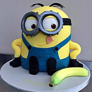 Banana N Bob Minion Cake: Cake Delivery in Goa