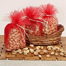 Basket Of Dry Fruits: Karwa Chauth Gift Baskets