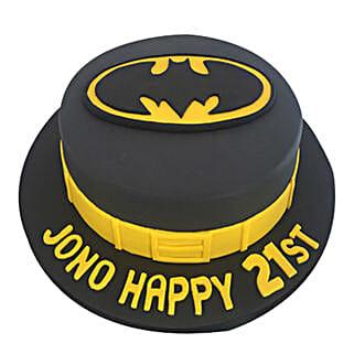 Batman Fondant Cake: Cartoon Cakes
