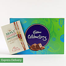 Beads Rakhi & Cadbury Celebrations: Rakhi - Same Day Delivery
