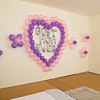 Beautiful Best Mom Ever Balloon Decor: Decoration Services in Delhi