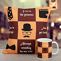 Because You Are The Greatest: Send Fathers Day Gifts to Gurgaon