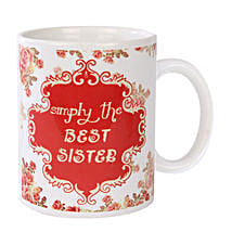 Best Sister Coffee Mug: Womens Day Gifts Gurgaon