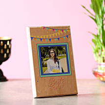 Best Wishes Personalised Plaque: Personalised gifts for birthday