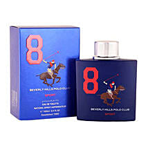 Beverly Hills EDT Blue For Men: Perfumes for Him
