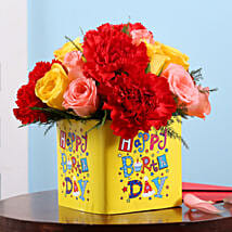 Birthday Floral Surprise: Mixed flowers