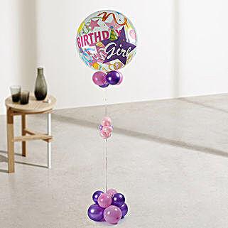 Birthday Girl Balloons: